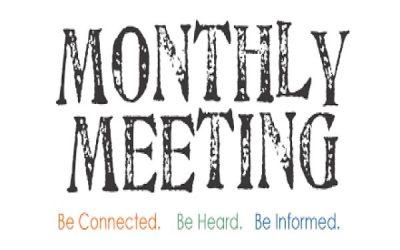 April Board Meeting Agenda